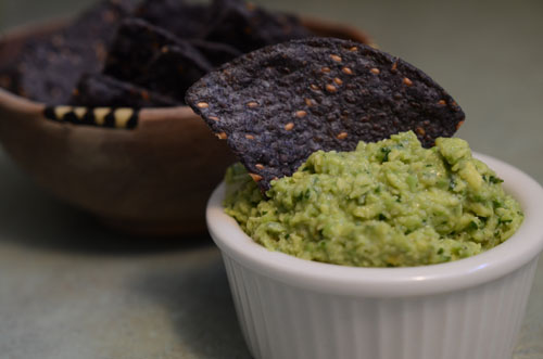 guacamole, photo by Jenny MacBeth