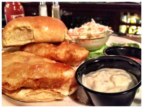 Beer Battered Fish, Photo by Jenny MacBeth