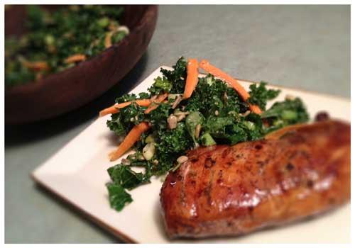Kale Salad, Photo by Jenny MacBeth