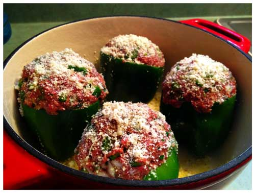 Stuffed Pepper, Photo by Jenny MacBeth
