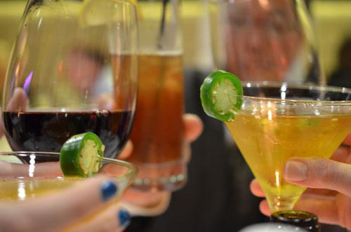 cheers, photo by Glen Green