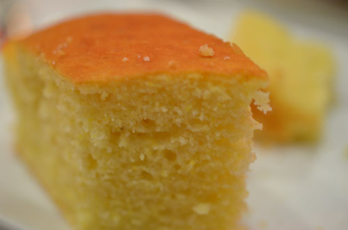 corn bread, photo by Glen Green