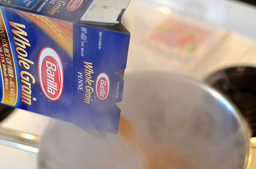 pasta-boiling-water, photo by Jenny MacBeth