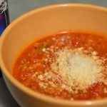stuffed pepper soup, photo by Jenny MacBeth