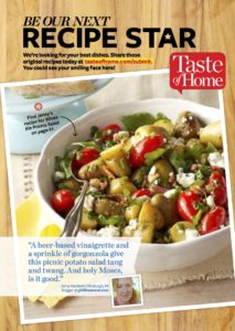 taste of home simple & delicious feature