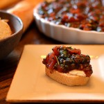bruschetta finished, photo by jenny macbeth