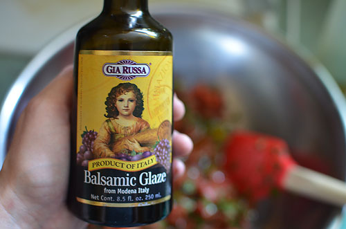 balsamic glaze photo by jenny macbeth