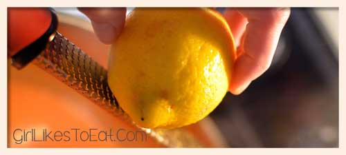add lemon zest to your tomato sauce, photo by Glen Green