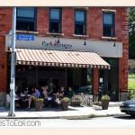 Park Bruges Cafe, Photo by Jenny MacBeth